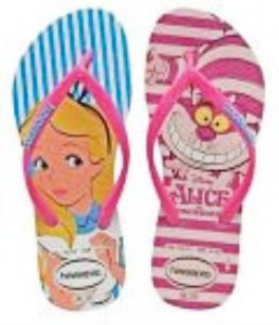 3ac5404523b19 Havaianas Kids Girls Slim Alice Slippers
