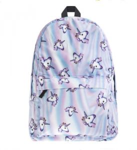 a24906fc78a Oxford space unicorn backpack pattern women bag schoolbags for teenage  girls backpack