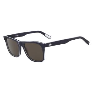 d088a61ba4b Lacoste Rectangle Sunglasses for Men - Brown Lens