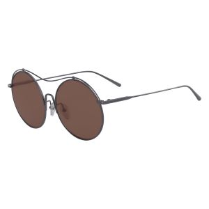 7cc65f2217e5 Calvin Klein Round Sunglasses for Women - Brown and Beige Lens