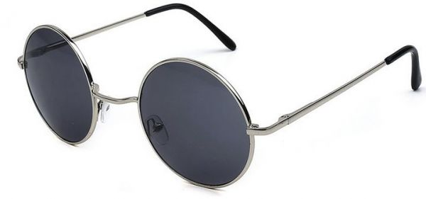 39a480faf61 Classic Round fashion Glasses Frame Metal sunglasses Big Frame Unisex. by  Other