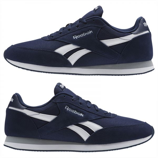 46b528135afcb Reebok Classic Royal Cl Jogger 2 Sneaker for Men