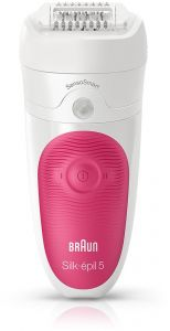 aef94a9a38 Braun Silk epil 5 5 500 SensoSmart™ epilator raspberry - Cordless Wet   Dry  epilation starter set with 2 extras