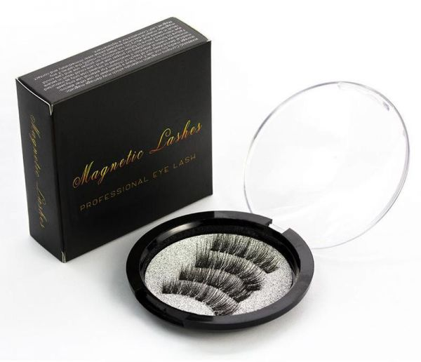 b4cbbd12b4b KS-02 Magnetic Eyelashes with Magnets Handmade 3D/6D Magnet Lashes Natural False  Eyelashes Comfortable with Gift Box KS-02 | Souq - UAE