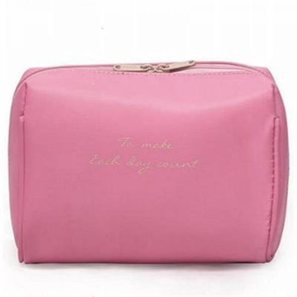 cd9869b950d9 Large Cosmetic Makeup Bag Pouch Clutch Travel Case Organizer Storage Bag  for Women Accessories Toiletry Beauty and Skincare