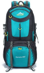 Travel outdoor mountain trekking hiking camping sports backpack 60L blue 74d142370c4d8