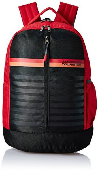 90b4823ebc0f American Tourister 28 Ltrs Red School Backpack (AMT PING BACKPACK 01 ...