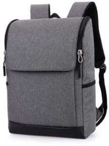cc2382a3a8f70 Fashion Laptop Backpack business bag-Grey