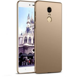 Xiaomi Redmi Note 4 Case, Meidom Slim Protective Shock Absorbing Case Cover for Redmi Note 4 - Gold