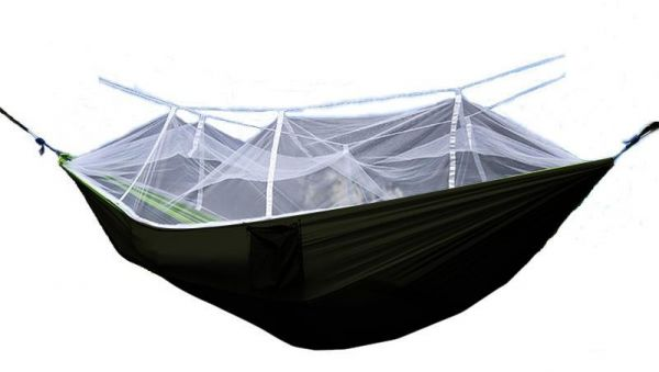 Camping Hammock With Mosquito Bug Net Single Double Hammocks With