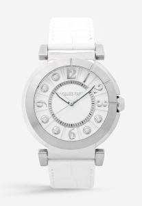 Jacques Farel Fashion Watches for Women Casual Watch Leather Strap white  Dial ALS777 9e2385eb616
