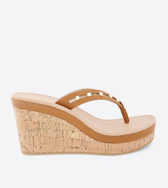 Aldo Wedge Sandals for Women - Brown
