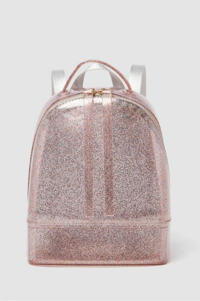 Shoexpress Glittered Mini Backpack Pink
