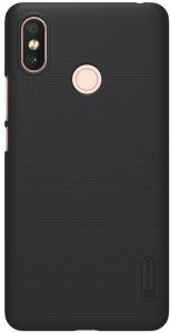 XIAOMI MI MAX-3 Nillkin Super Frosted Shield Back Case [Black Color] BY ONLINEPHONE
