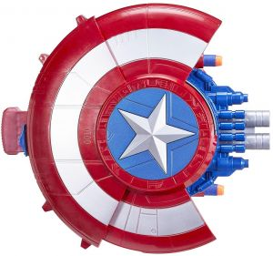 Captain America Soft Gun Shield Nerf Gun The Avengers Marvel Action Figure Shoot Plastic Toy