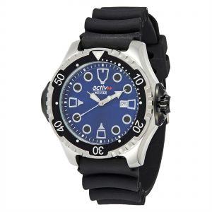 1931d901ec04 Westar Active Men s Dark Blue Silicone Band Watch - 9624SBL
