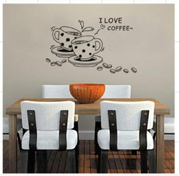 diy wall decorative decal mural pvc stickers household adornment
