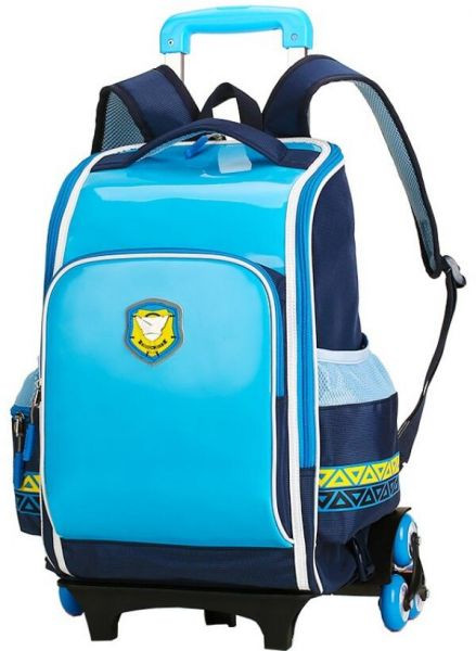 79ebcbbfe0 European royal style children s rolling backpack Primary School Trolley  Bags Waterproof Schoolbag Child with 2 6 Wheels Removable School bags for  girls and ...