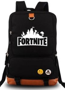 dc5b7ebf29 Fortnite Series Classic Noctilucent Luminous Backpack Casual Everyday Student  School Bookbag Basic Travel Rucksack Light Weight Canvas Backpack Unisex ...