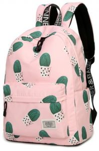 b3cbcff442d1 Waterproof Canvas Unicorn Animal Printing Women Men School Backpack 14-15.6  inch Travel Laptop Bagpack Blue kawaii Bookbag for Girls and Boys Outdoor  and ...