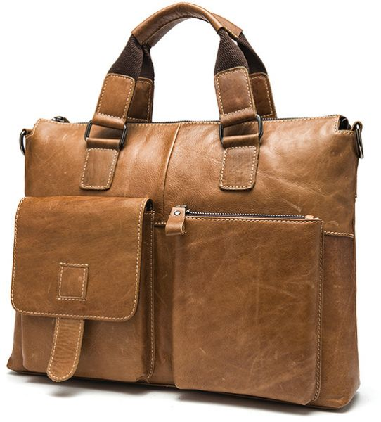 851caa43d8be Leather men s tote top layer briefcases leisure computer bags Portable  carry tote bag leisure bag Student lover bags tablet bags travel bag Men s  cowhide ...