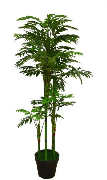 1 75 Meters Exquisite Simulation Bonsai Artificial Plant Potted Green Tree Indoor And Outdoor Decoration Of Bamboo Tropical Plants