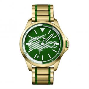 74ac479e03ea Lacoste Women s Green Dial Stainless Steel Band Watch - 2010962