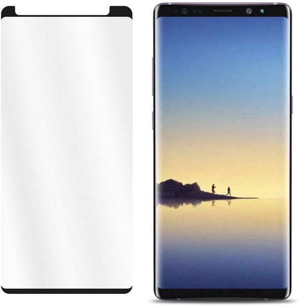 hot sale online b1669 42365 Samsung Galaxy Note 9 Case Friendly Full Tempered Glass Screen Protector