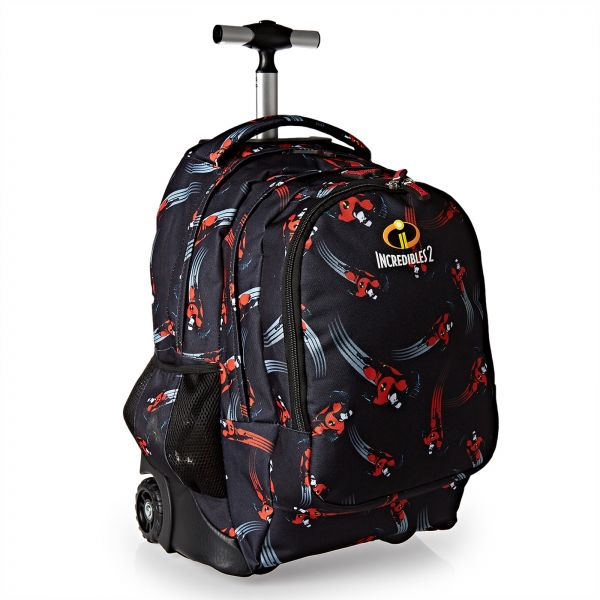 6cea84e8f882 The Incredibles School Trolley Bag for Boys - Black