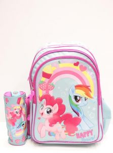 school bag with pens case girls 123998 1b4a7a30b87e5