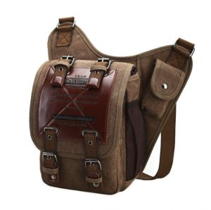 e09dcd05c914 Men s Bag Vintage Canvas Multifunction Vogue Shoulder Messenger Bags