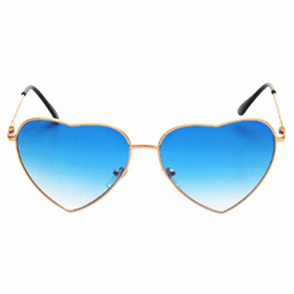 eeefa46a29e80 Heart Reflective Sunglasses Women s Glasses Sun Shaped Love Fashion Women  Sun Glasses Metal Frames Goggle