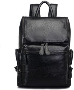 68bf394ae60c Men Backpack Leather Vintage Male Functional Travel bags Large Capacity Men  Bag School Bags For Teenager Boys-xsq