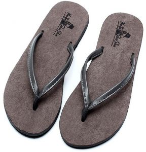 a92031f03ed5d0 Flip-flop unisex summer slip sandals couple beach shoes Europe and America  toe suede men and women Heel Casual slippers