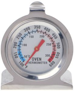 Stainless Steel Oven Thermometer Kitchen Baking Temperature Measuring BBQ Oven Cooking Tools Thermometer