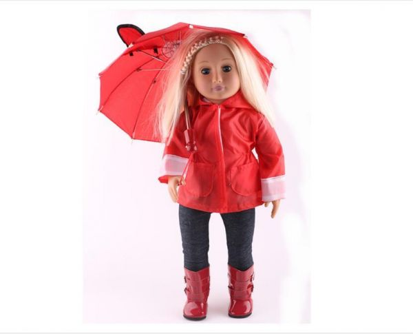 e9bc1fb0cd3ee 4 Pieces Rain Jacket outfit includes Jacket