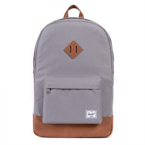 10ba9b2fa39 Herschel 10007-00061-OS Heritage Unisex Fashion Backpack - Grey