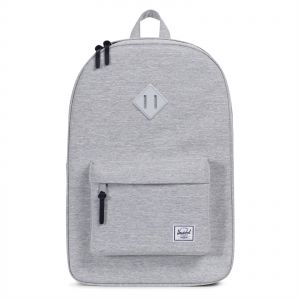 Herschel 10007-02041-OS Heritage Unisex Casual Daypacks Backpack - Light  Grey Crosshatch 8623c0cac6c3f