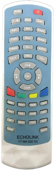 Remote Control for Receiver Satellite - ECHOLINK 777/888/3020/700