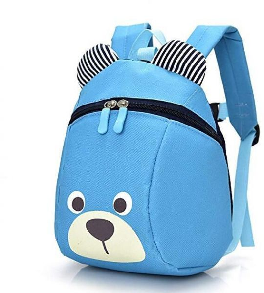 Bear Small Toddler School Backpack With Leash Children Kids Backpack