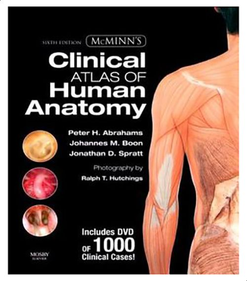 Souq Mcminns Clinical Atlas Of Human Anatomy By Peter H Abrahams
