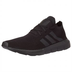 8e68fca8c7d19 adidas Originals Swift Prime Knit Running Shoes for Men - Core Black   Grey  Five