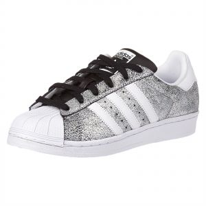 adidas Originals Superstar Sneaker for Women - White   Core Black 5c54f80c58