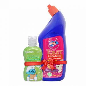 e5842293606e Clean Up Toilet Cleaner 750 ml with Hand Sanitizer