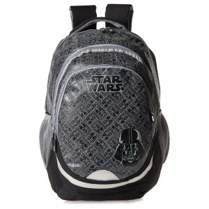 1e02609169b4 Lucas Studio Star Wars Classic School Backpack for Boys - Black