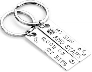 inspector chain chain of custody FN Herstal P90 the game of thrones my sun and stars moon of my life key chain lover metal car keyring