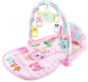 428d7985b4527 MoonmenBaby Intelligent Piano Gym Play Mat Infant Play Gym Activity Music  Mat Multifunctional Kicking
