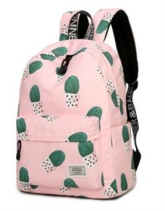 fbb9874c00 Cactus Printing Backpack Travel Students Polyester large capacity School  Backpack Outdoor Sport Teenager Causal Laptop Bag