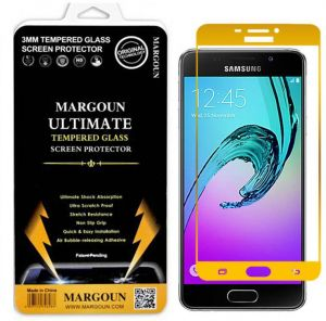 Margoun 5D for Samsung Galaxy A510 / A5 (2016) (5.2 inch) Tempered Glass Screen Protector - Scratch Resistance, Non Slip Grip, Quick and Easy Installation ...