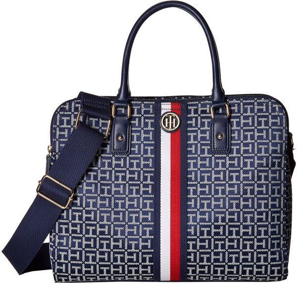 c9cd757526cc76 Tommy Hilfiger Agatha II Convertible Tote For Women - Multi Color ...